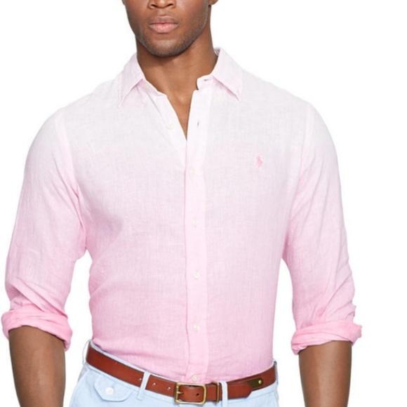 5f1a0727a5dc Polo by Ralph Lauren Shirts | Linen Dipdyed Button Down | Poshmark